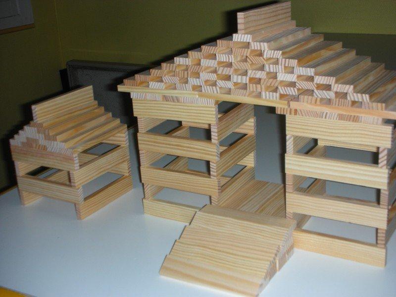 Mes r alisations kapla mes r alisations kapla for Recherche maison a construire